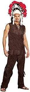 Chief Long Arrow, Mens Adult Costume
