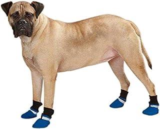 Guardian Gear Weatherized Fleece Dog Boots, Medium, Blue