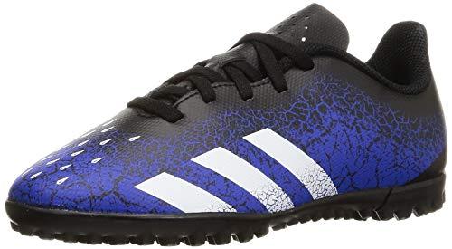 adidas Predator Freak .4 TF J, Zapatillas de fútbol, AZUREA/FTWBLA/NEGBÁS, 34 EU