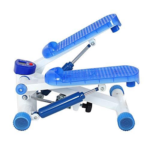 JCCOZ-URG Pedal Fitnessgeräte Stepper Ultra Mute Dual-Hydraulik Gleichgewicht Widerstand Startseite Indoor Sport Geeignet for Profis (blau) URG