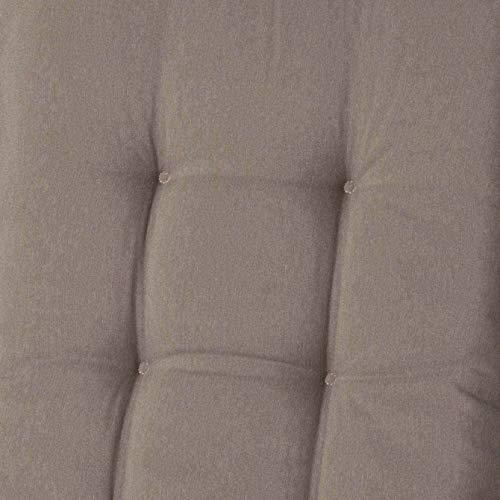 Madison kussens picknicktafel kussen 28x60cm - Panama Taupe