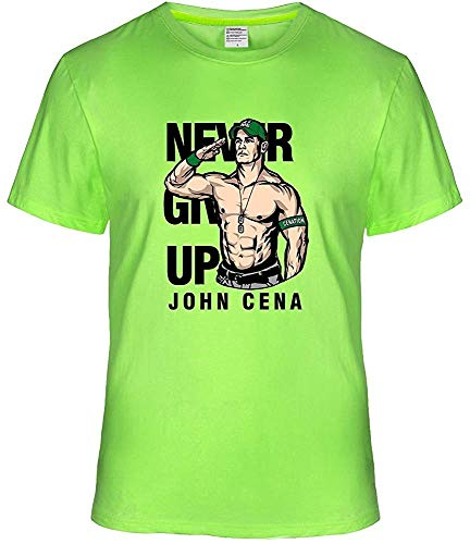 John Cena Salute Pose Short Sleeve Personalize T-Shirt M