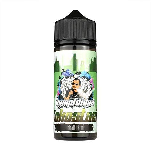 Dampfdidas Aromakonzentrat Kokostazie, Shake-and-Vape zum Mischen mit Basisliquid für e-Liquid, 0.0 mg Nikotin, 18 ml
