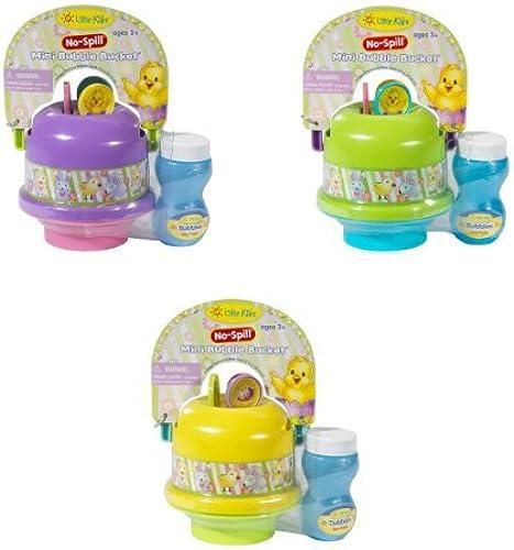 gran selección y entrega rápida Little Kids Easter No Spill Mini Bubble Bucket by Little Little Little Kids  los clientes primero