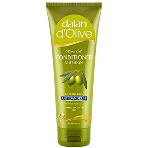 6 x Neotopic Dalan d'olive anti-pelliculaire – Après-shampoing pour tous les types de cheveux – 200 ml