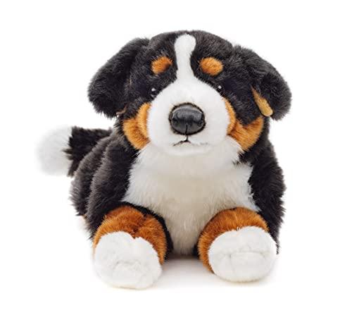 Uni-Toys - Berner Sennenhund, liegend - 42 cm (Länge) - Plüsch-Hund - Plüschtier, Kuscheltier