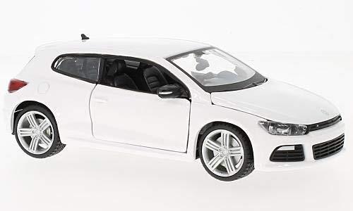 VW Scirocco III R, weiss, 0, Modellauto, Fertigmodell, Bburago 1:24