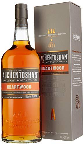 Auchentoshan Heartwood Whisky mit Geschenkverpackung  (1 x 1 l)