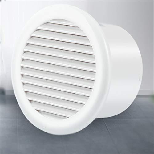 Yousiju Extractor de baño, extractor de cocina ventilador de 4/6 pulgadas, fuerte y duradero, adecuado para baño/cocina/sala de estar (tamaño: 4 pulgadas)