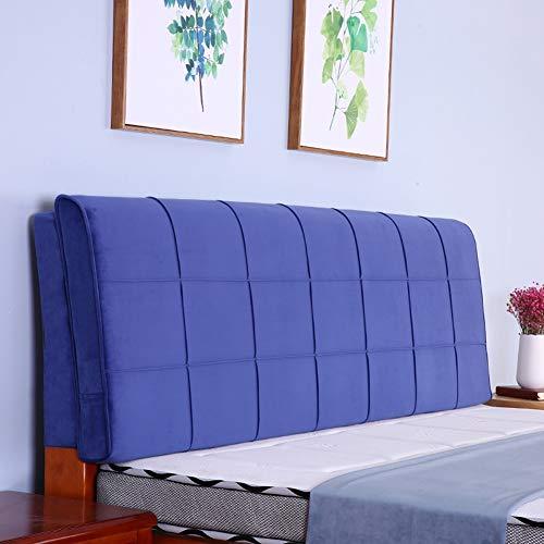 Home Pillow Cuscino dello Schienale Letto Senza Testata del Lato del Letto Soft Cover Cuscino poggiatesta Imbottito Divano Lombare Pad Moderno ed Elegante, 7 Colori, Multi Formati