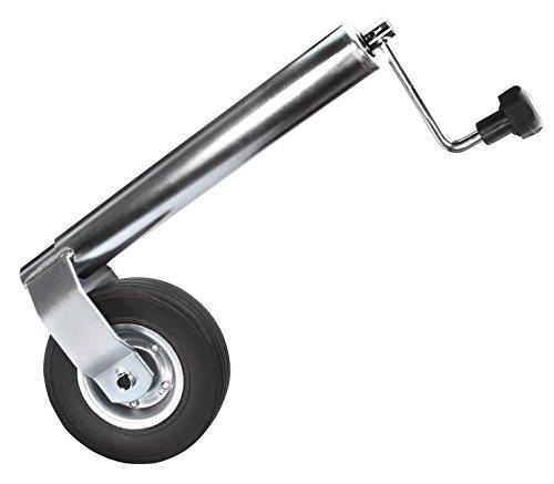 Anhängerstützrad stabile Ausführung Bugrad Stützrad Ø 60 mm Stützlast 300 kg