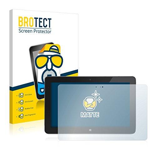 BROTECT 2X Entspiegelungs-Schutzfolie kompatibel mit Dell Venue 11 Pro 7130 (2013-2014) Bildschirmschutz-Folie Matt, Anti-Reflex, Anti-Fingerprint