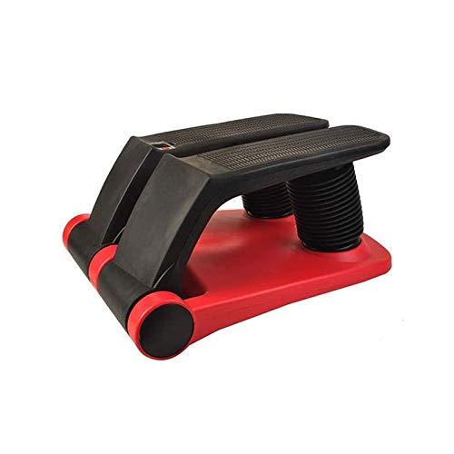 UIZSDIUZ Air Stepper Climber Fitness Máquina Resistente Cordón Air Step Aerobic Machine Stair Stepper Equipo de Ejercicio con Ejercicio de CD Máquina para Adelgazar