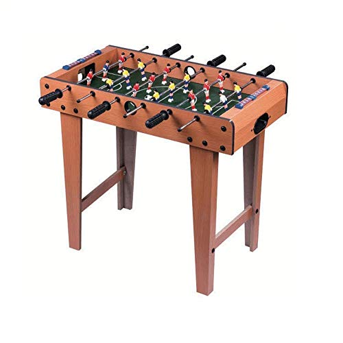 Review CJVJKN Classic Children's Table Football, Thick and Durable, Rounded Corners, Suitable for Mu...