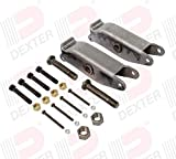 Dexter Axle Slipper Spring Equalizer Kit for 2800-6000 lb Axles with 33.5' Axle Spacing (K71-365-00)