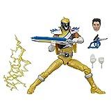 Power Rangers Lightning Collection Dino Charge Gold Ranger - Figura Coleccionable con Accesorios (15...