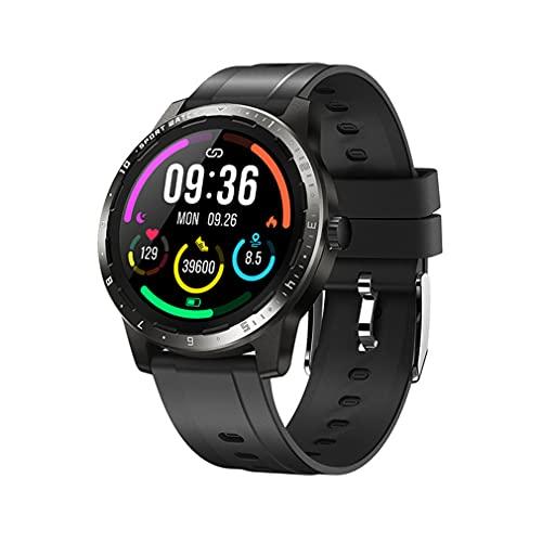 Smart Watch, 1.28'TFT LCD Pantalla Fitness Tracker con Medidas Temperatura Corporal Temperatura Tarifa Cardíaca Monitoreo De Salud, 20 Modos De Deportes Tracker De Actividad para Hombres Mujeres