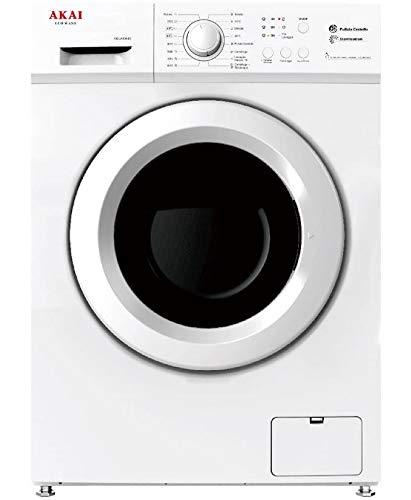 Akai AQUA6044S lavatrice Libera installazione Caricamento frontale Bianco 6 kg 1000 Giri min A++