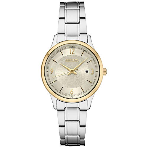 Women's Japanese Quartz Stainless Steel Strap, Silver, 0 Casual Watch (Model: ) - Seiko SXDH04
