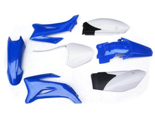 PCC MOTOR Ps43 FOR Yamaha Ttr110 PIT BIKE Plastic Fender Kit Blue