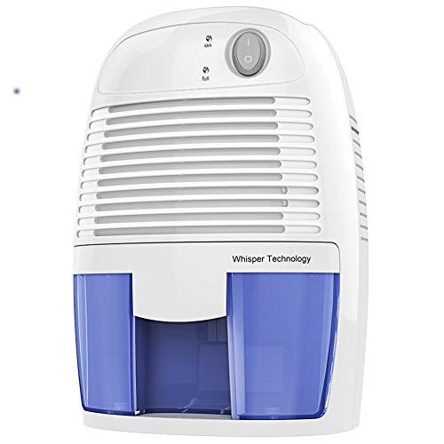 PICKME Elektro-Mini Luftentfeuchter, (20 Qm), Kompakt Und Tragbar Für Hochfeuchte- in Haus, Küche, Schlafzimmer, Badezimmer, Wohnwagen, Garage Mit Auto-Abschaltung