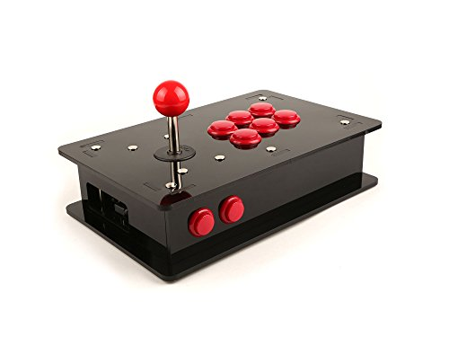 SEEED. Raspberry Pi Acrylic DIY Retro Game Arcade Kit
