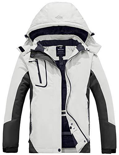 Wantdo Femme Veste de Ski Montagne Hiver...
