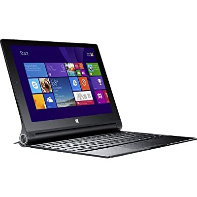 Lenovo Yoga 2 10 Windows Tablet with Keyboard (Newest Version), Intel Quad Core 1.86 GHz Processor, 10.1 Inch FHD Touchscreen Display(1920 x 1200), Bluetooth, Windows 8.1, 2GB RAM, 32GB Flash Storage (Certified Refurbished)