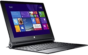 Lenovo Yoga 2 10 Windows Tablet with Keyboard, Intel Quad Core 1.86 GHz CPU, 10.1in FHD Touchscreen, Bluetooth, Windows 8.1, 2GB RAM, 32GB Flash Storage (Renewed)