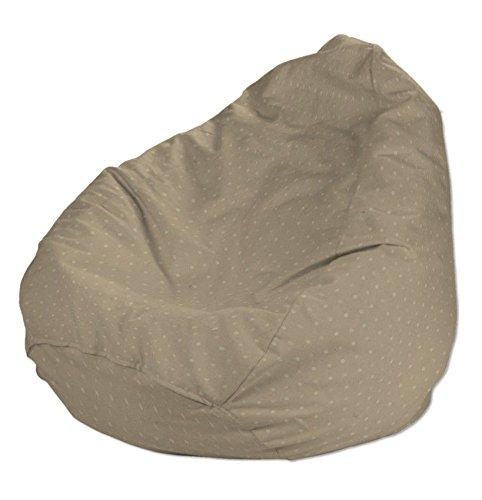 Dekoria Poltrona a sacco Ø50 x 85 cm cappuccino