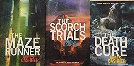 The Maze Runner Trilogy 3 Book Set - The Maze Runner - The Scorch Trials - The Death Cure