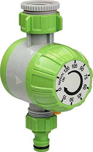 Bewässerungsuhr Zeitschaltuhr für Bewässerung manuell Benötigt keine Batterie mechanische Bewässerungsuhr für Wasserhähne leicht einstellbar Zeitmesser Wassertime automatische Bewässerung