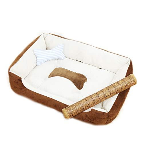 Voliere Liuyu – Maison de la vie Brown Nest rechthoekig Pet Oven Universal Babybed