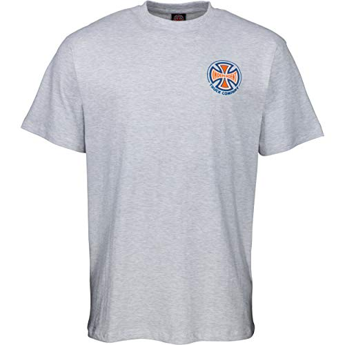 INDEPENDENT, Spectrum truck co t-shirt, Athletic heather - XL