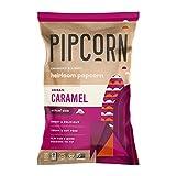 Pipcorn Heirloom Mini Popcorn - Vegan Caramel, 8.25 oz Bags, 3 Pack - Plant-Based, No Artificial Anything, Dairy-Free, No Preservatives, Zero Trans Fat, Gluten Free