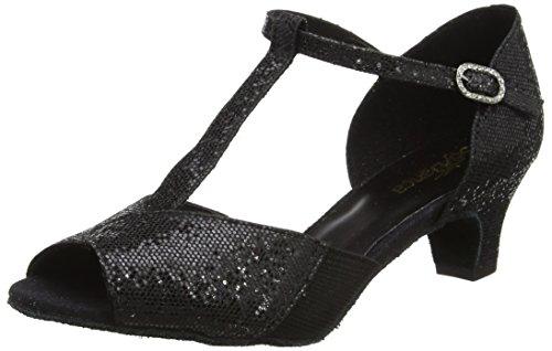So Danca Damen Bl33 Tanzschuhe-Standard & Latein, Schwarz (Black), 41.5 EU (11 US)