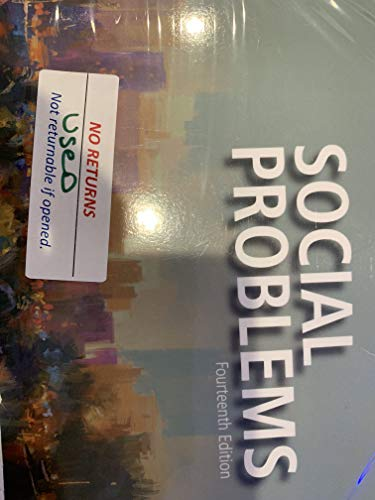 Social Problems -- Books a la Carte (14th Edition)