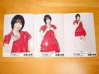 佐藤佳穂 シアターの女神 公演 SKE48 12th Anniversary Fes 2020 12公演一挙披露祭 A-type ランダム生写真 3種コンプ