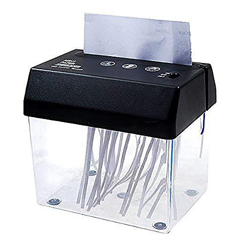 Bocotoer Trituradora de Papel Plegado A5 o A4 de Escritorio Mini Trituradora USB Pequeno para el hogar/Oficina