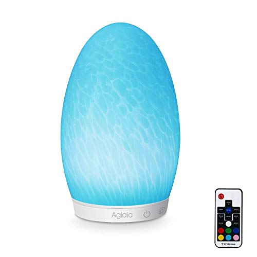 Aglaia Bedside Lamp Rechargeable, Touch Dimmable LED Mood Lamp with Cool White Light and Color Changing RGB, Suitable for Living Room Decoration