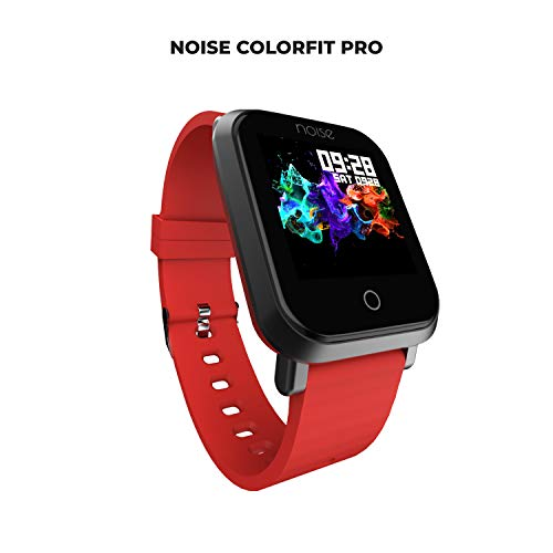 Noise ColorFit Pro Smartwatch (Red)