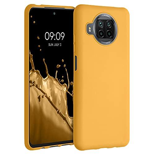 kwmobile Custodia Compatibile con Xiaomi Mi 10T Lite - Cover in Silicone TPU - Back Case per Smartphone - Protezione Gommata Giallo Zafferano