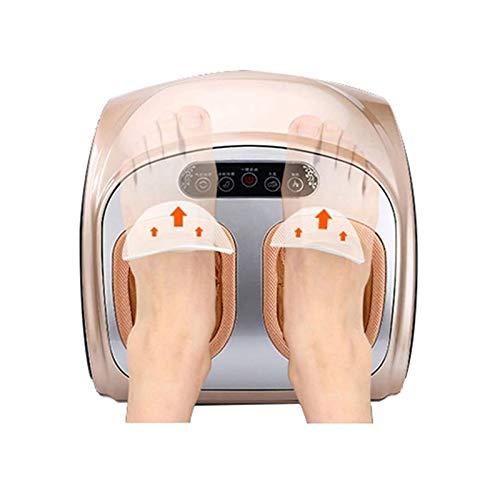 SCYMYBH Electric Massagers Vibration Shiatsu Kneading Air Pressure Massage Machine Carbon Fiber Heating Device Massageador (Color : A)