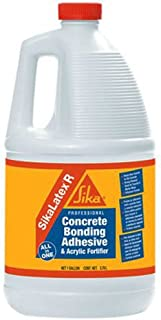 SIKA Corporation 187782 Concrete Bonding Adhesive and Acrylic Fortifier, 1-Gallon, White