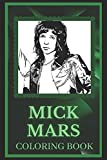 Mick Mars Coloring Book: Spark Curiosity and Explore The World of Mick Mars