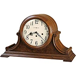 Howard Miller Hadley Mantel Clock 630-222 – Oak Yorkshire, Key Wound Single Chime Movement
