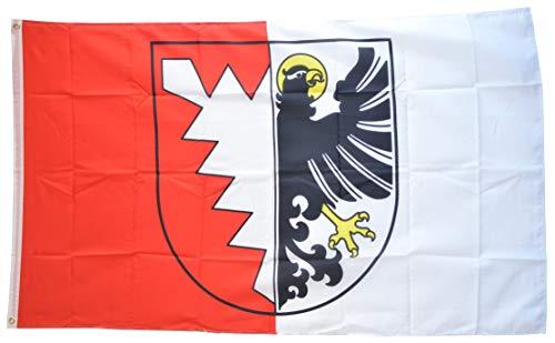 Flaggenfritze Fahne/Flagge Deutschland Stadt Grömitz + Gratis Sticker