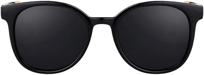 Fuqiuwei Sonnenbrillen Simple And Versatile Retro Personality Black Sunglasses Small Face Female Fashion colorful Sunglasses