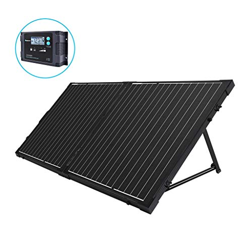 Renogy 100 Watt 12 Volt Monocrystalline Off Grid Portable Foldable 2Pcs 50W Solar Panel...