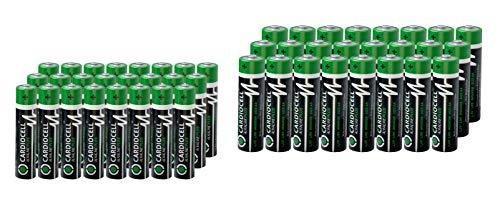 CARDIOCELL Alkaline PLUS - Batterie AA Batterien Mignon Batterien LR6 (24er-Box)